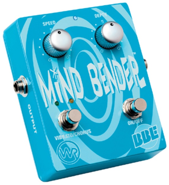BBE Mind Bender Analog Chorus Guitar Effects Pedal