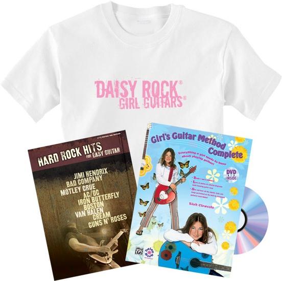 Girl's Guitar Method Complete Bundle Pack