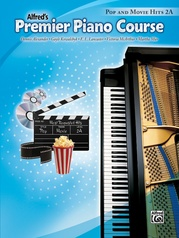 Premier Piano Course, Pop and Movie Hits 2A