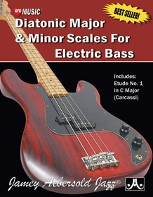 Diatonic Major & Minor Scales for Electric Bass
