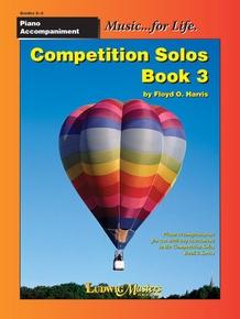 Competition Solos, Book 3 Piano Accompaniment