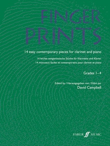 Fingerprints for Clarinet and Piano, Grade 1-4