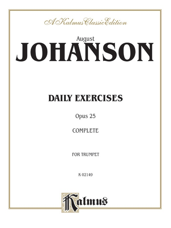 Daily Exercises, Opus 25
