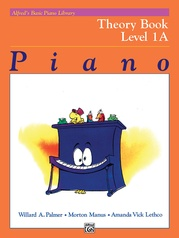 Alfred's Basic Piano Library: Theory Book 1A