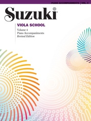 Suzuki Viola School Piano Acc., Volume 4 (Revised)