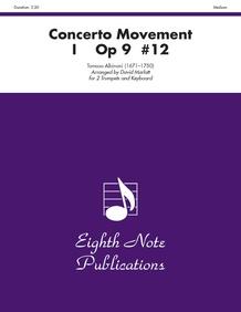 Concerto Movement I, Op 9 #12