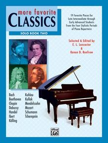 More Favorite Classics: Solo, Book 2