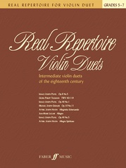 Real Repertoire for Violin Duets