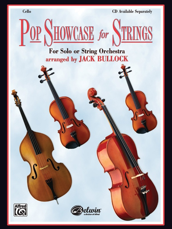 Pop Showcase For Strings Cello Book