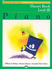 Alfred's Basic Piano Library: Universal Edition Theory Book 1B