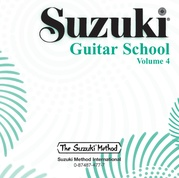 Suzuki Guitar School CD, Volume 4