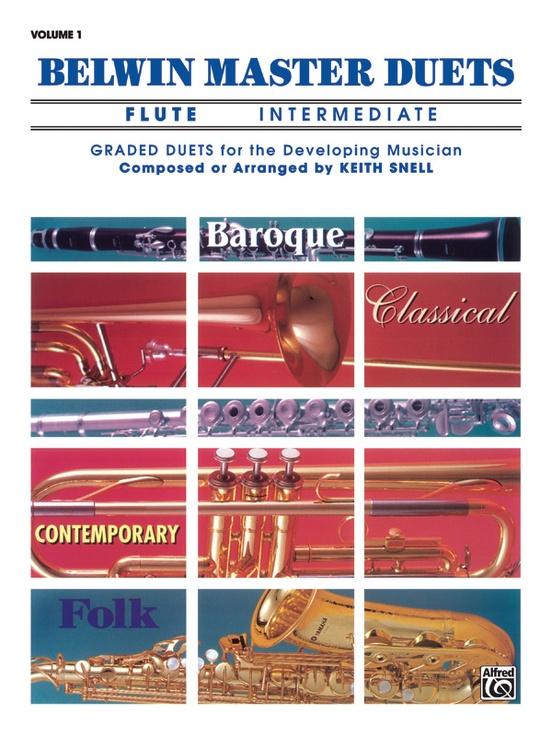 Belwin Master Duets (Flute), Intermediate Volume 1