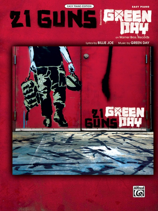 21 Guns Piano Sheet Green Day