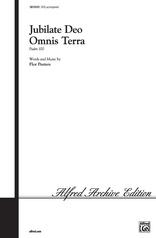 Jubilate Deo Omnis Terra (Psalm 99)