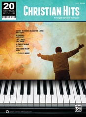 20 Sheet Music Bestsellers: Christian Hits