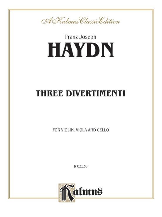 Three Divertimenti