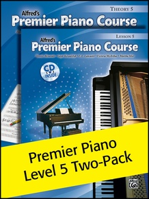 Premier Piano Course, Lesson & Theory 5 (Value Pack)