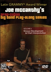 Joe McCarthy's Afro-Cuban Big Band Play-Along Series, Volume 2