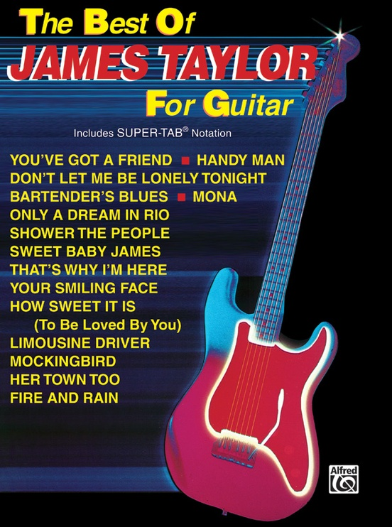 The Best of James Taylor for Guitar