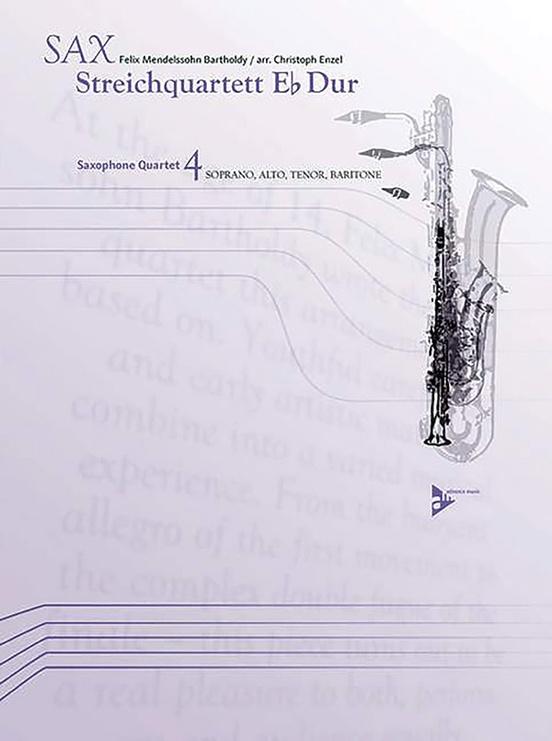 Sax Streichquartett E-flat Dur