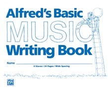 "Alfred's Basic Music Writing Book (8"" x 6"")"