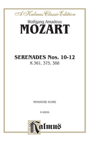 Serenades, K. 361, 375, 388
