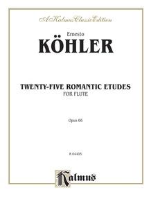 Twenty-five Romantic Etudes, Opus 66