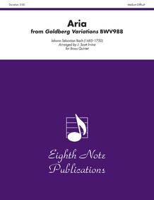 Aria (from <I>Goldberg Variations</I>, BWV988)