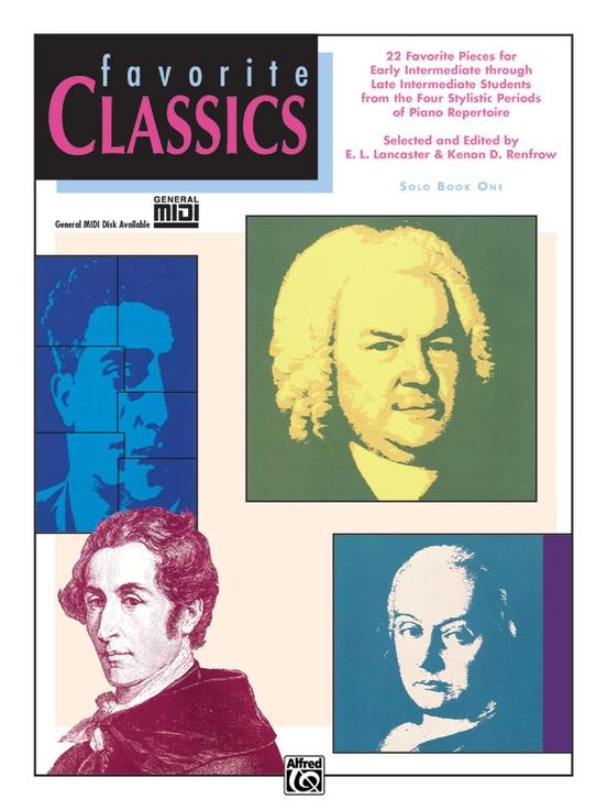 Favorite Classics: Solo, Book 1