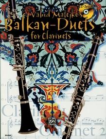 Vahid Matejko's Balkan Duets for Clarinets