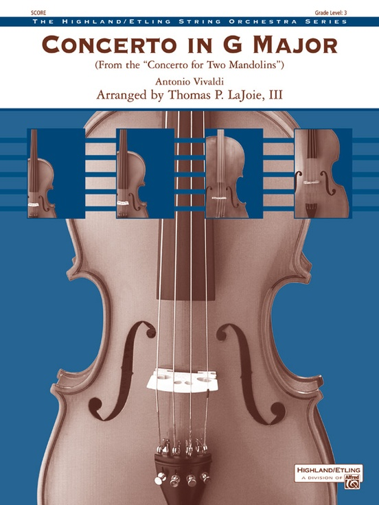 Concerto in G Major (from the Concerto for Two Mandolins)