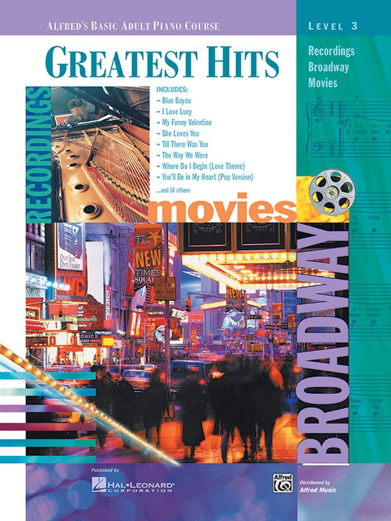 Alfred's Basic Adult Piano Course: Greatest Hits Book 3