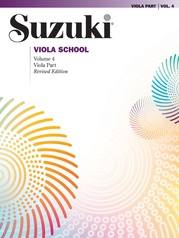 Suzuki Viola School Viola Part, Volume 4 (Revised)
