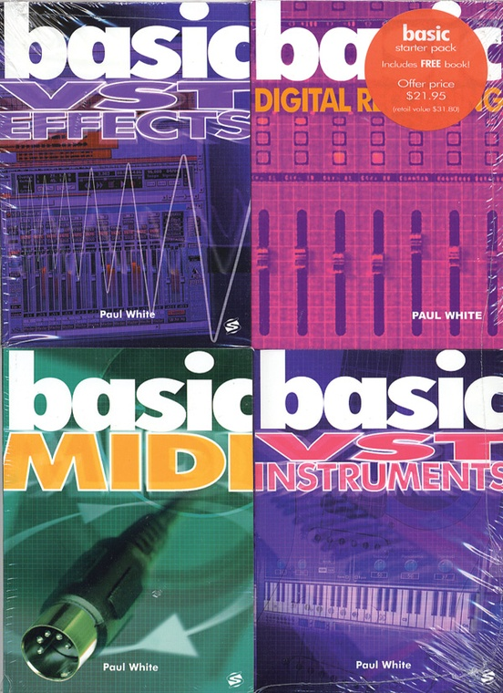 Basics 4-Pack: Computer Recording Basics