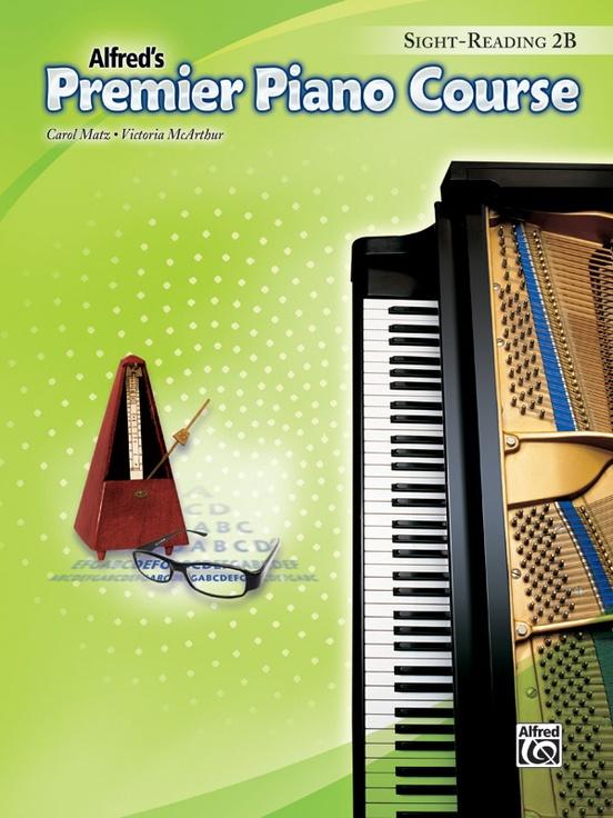 Premier Piano Course, Sight Reading 2B