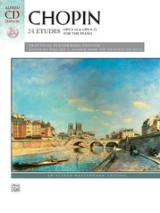 Chopin, 24 Etudes, Opus 10 & Opus 25