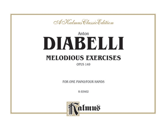 Melodious Exercises, Opus 149