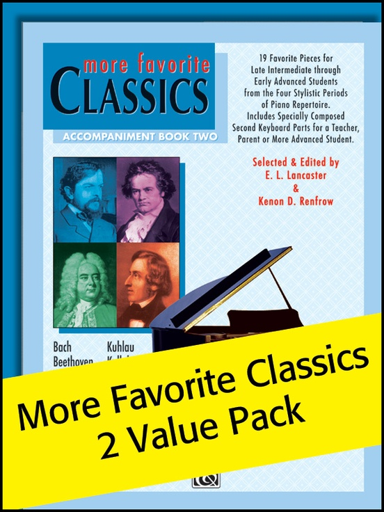 More Favorite Classics 2 (Value Pack)