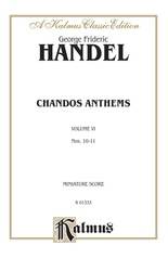 Chandos Anthems, 10. The Lord Is My Light 11. Let God Arise (two versions)