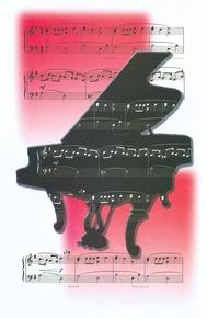 Schaum Recital Programs (Blank) #65: Piano and Music