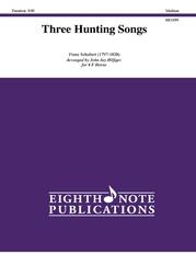 Three Hunting Songs
