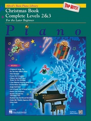Alfred's Basic Piano Library: Top Hits! Christmas Book Complete 2 & 3