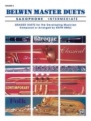 Belwin Master Duets (Saxophone), Intermediate Volume 2