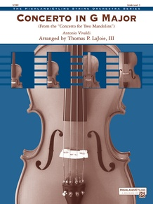 Concerto in G Major (from the <i>Concerto for Two Mandolins</i>)