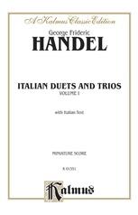 Italian Duets and Trios, Volume I