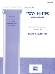 Masterworks for Two Flutes, Book II
