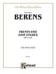 Twenty-five Easy Studies, Opus 100