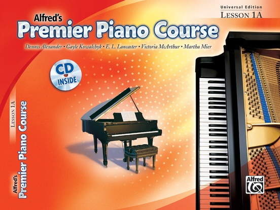 Premier Piano Course, Universal Edition Lesson 1A