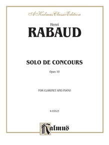 Solo de Concours, Opus 10