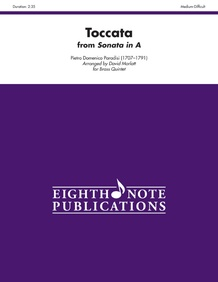 Toccata (from <i>Sonata in A</i>)